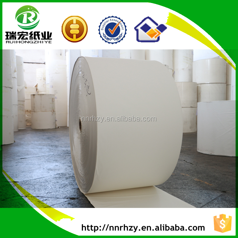 170gsm oil and water proof food grade packaging paper roll
