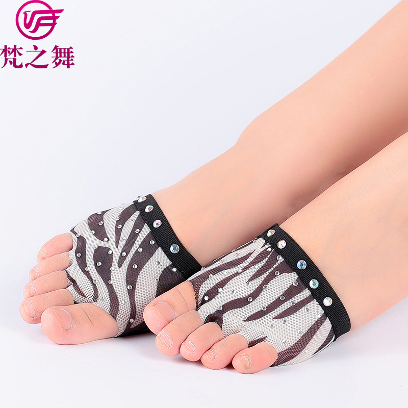 X-8069 Multy pattern five holes belly dance shoes hong kong foot thongs wholesale