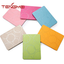 Luxury matte leather case for ipad 6 smart magnetic cover for ipad tablet