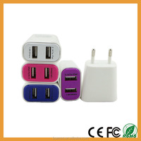 Wholesale Best Quality Cell Phone Charger 5V 2.100mAh Dual USB Charger for Mobile Telephone