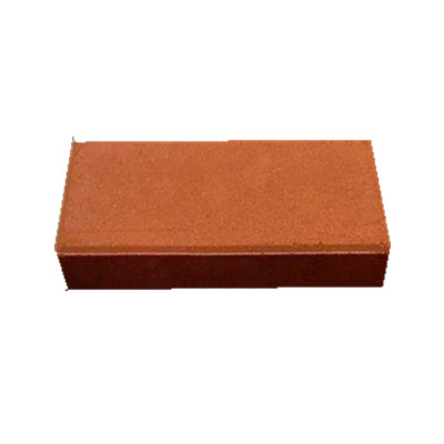 7# good acid resistance clay paving bricks for pedestrian path