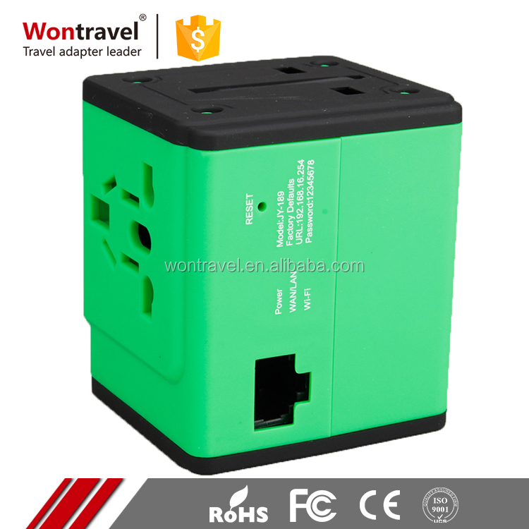 Universal all in one alibaba hot international plug wifi travel converter adapter power bank au eu uk usa india europe