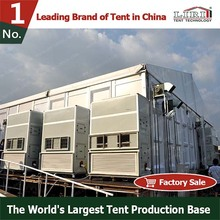 One-step Tent With Air Conditioner And Furnitures Flooring System
