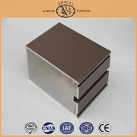 Thermal Break Aluminum Profile for Curtain Wall, Glass Building Frames