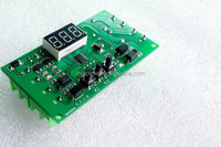 DC 12v motor reversing control panel /driver board programmable delay timer relay module