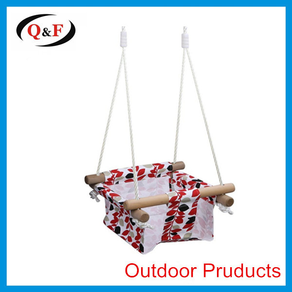 Baby toddler canvas swing hammock chair hanging cradle seat
