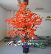 2016 artificial maple tree for decoration