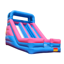 Inflatable slide bouncer castle slide for kids