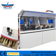 Automatic wood brush polishing sanding machine price with diskdrum sander
