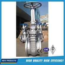 Industrial API 6D stainless steel gate valve with prices