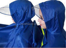2014 Latest Design Waterproof Easy Carry Foldable Adults Poncho Motorcycle Raincoat