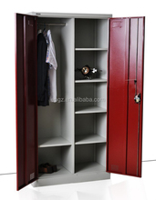 Modern Wardrobe Clothes Cabinet Steel Office Furniture