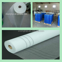 160g/m2, 4*4 ,rad and blue ,basf glue , pallet packing , Coated Alkali Resistant Fiberglass Mesh