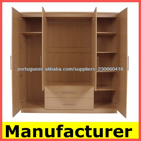 Hot sale 2019 cheap price modern simple wooden bedroom wardrobe