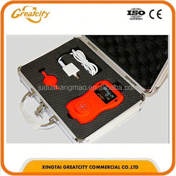 Personal Combustible Gas Alarm LPG Gas Detector With Shut-off Valve