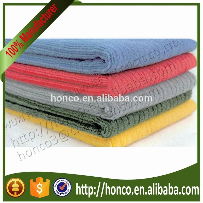 BSCI factory Top Quality Microfiber Cleaning Cloth high absorbent Microfiber Kitchen Towel Terry Cloth