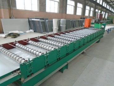 Corrugated Sheet Forming