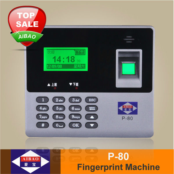 Finger print or card system for time Biometric Attendance Control System