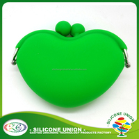 High Quality bulk wholesale high quality freely logos silicone coin purse