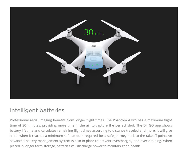 Newest Original DJI Phantom 4 Pro with 20MP CMOS sensor 4K camera