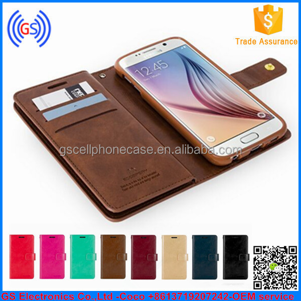 New Models Flip Wallet Case For Samsung Galaxy J7 Mercury Goospery