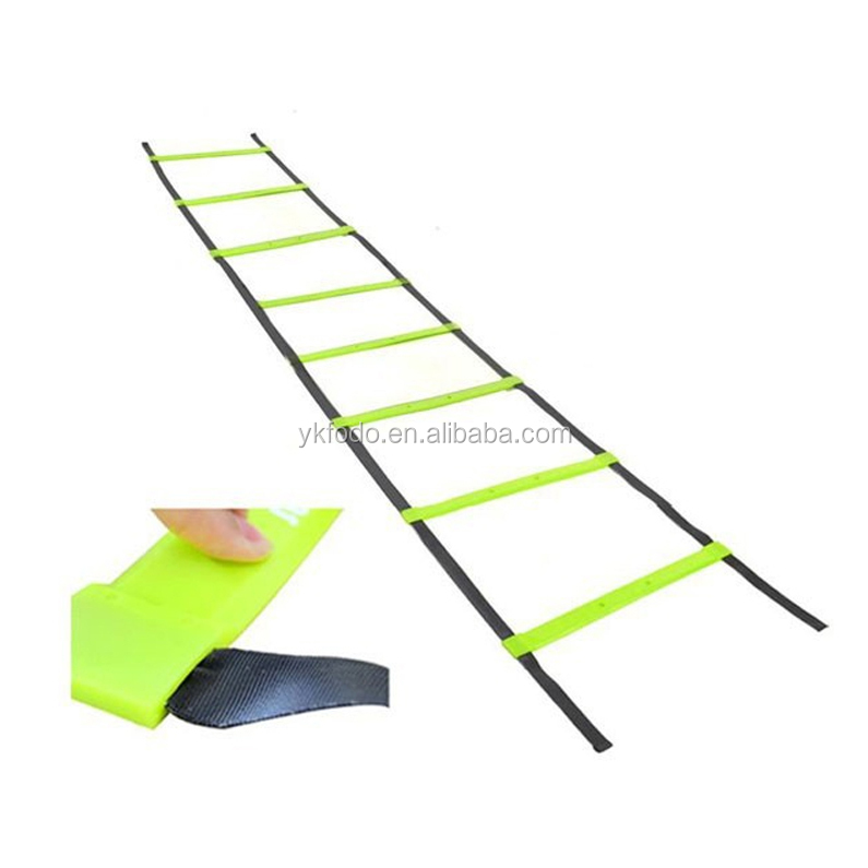 Quick flat rung agility ladder feet speed drills new foot sports training (FD694-1)