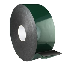 custom PE circle double sided foam tape widely used for metal plastic wall window