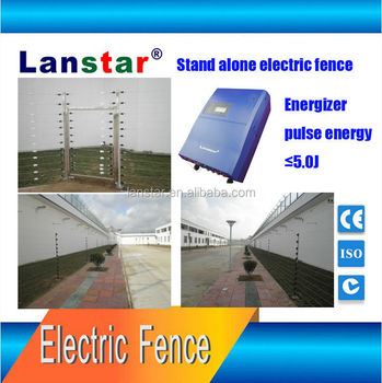 Lanstar Factory Price Lcd Electric Fence Energizer For Home Security