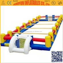 2014 Commercial Interactive Game Inflatable Human Foosball