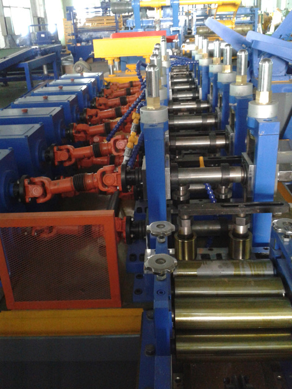 pipe making machine for carbon steel sheet