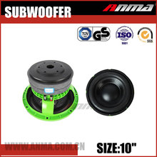 "10"" inch car subwoofer high quality competition 3000W car speakers subwoofer"