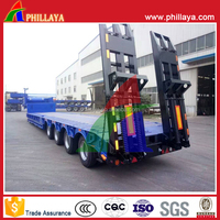 4 Axles 80 Tons Low Loader
