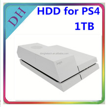 For PS4 video game storage--data base 1tb hdd with external hard disk enclosure perfect match!