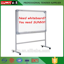 Wholesales kids magnetic acrylic whiteboard with roller