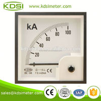 Mechanics BE-96 DC4-20mA 100KA electric meter panel