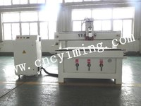 Dust collector CNC wood engraving machine with Taiwan Delta inverter