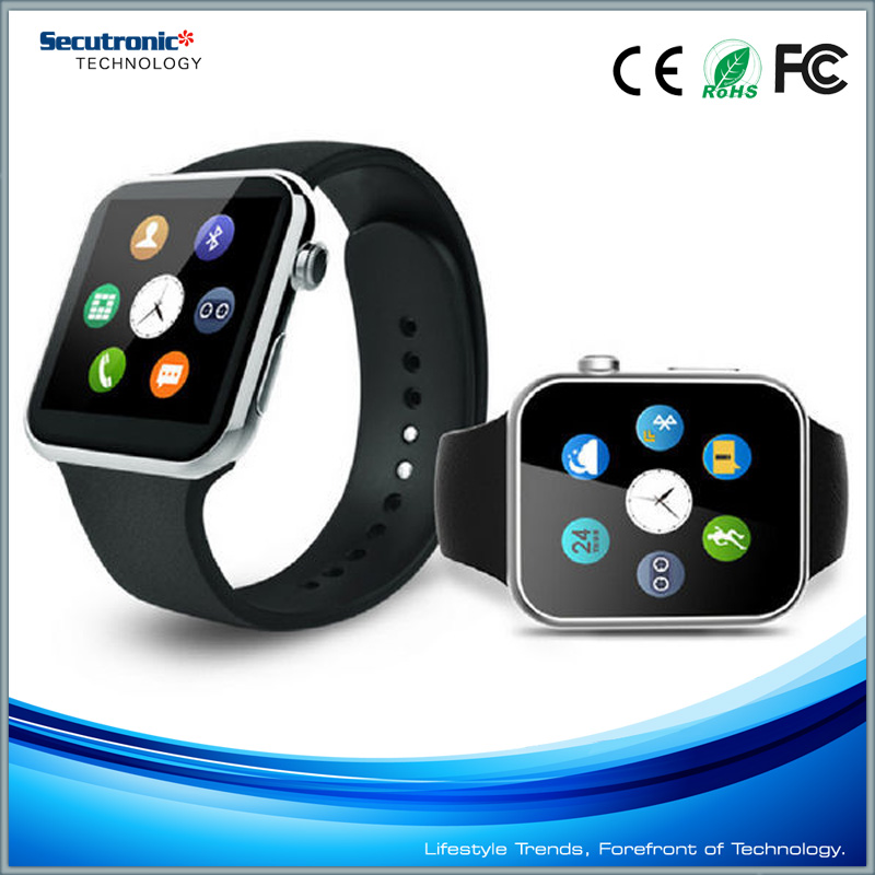 MTK 2502 Smart Watch Phone A9 Bluetooth Smartwatch For Iphone & Samsung Android Phone