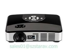android 3D led dlp projector 8G capacity vivid 800 ANSI Lumens 1000:1 android Home Theater WTH550 Home and business use