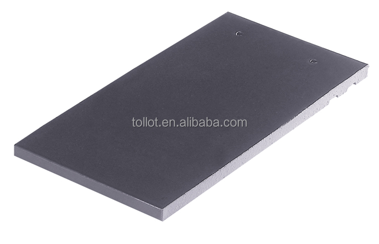 New Products Cheap Construction Roofing Materials Gray Flat Roof Tile with Top Quality