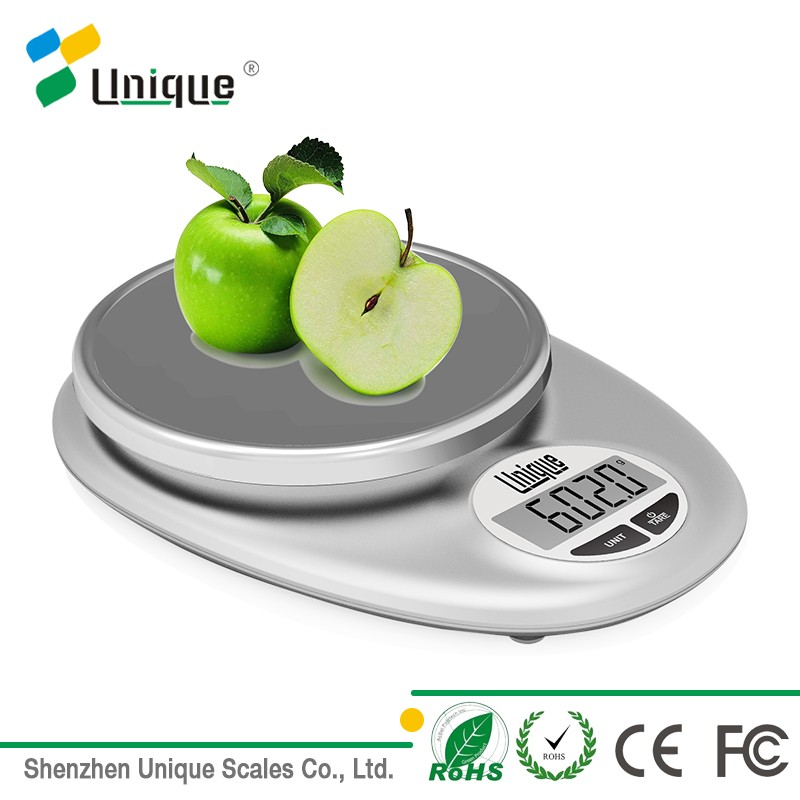 Promotional Cheap Factory wholesale 5kg Mini Vegetable Fruit Food Weighing Plastic Kitchen Scales