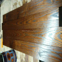 Oil Finished Chinese Teak Hardwood & Solid Wood Flooing for Out Usuage