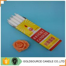 Artificial Flame White Bright candles Made In China
