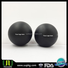 UU PACKAGING 30ml acrylic cosmetic ball shape black frosted jar