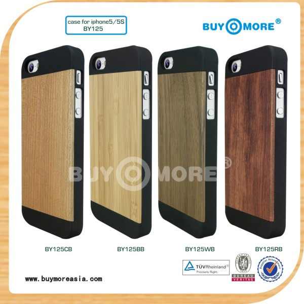 Hot Selling Wood Cell Phone Cases for iPhone 5 5s Phone Cases