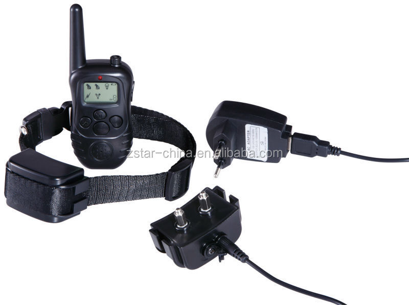 Remote 1000M Rechargeable LCD Displayer ELECTRIC Shock PET DOG TRAINING COLLAR
