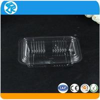 PVC custom accepted biodegradable disposable plastic food trays