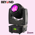 dj led beam light dj equipment 60watt rgbw 4in1 zoom moving head wash light