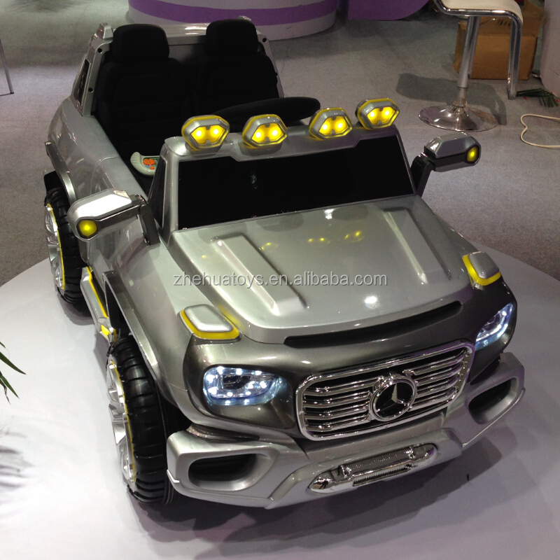 12v ride on two seater Mecedez benz G class toy car for big kids
