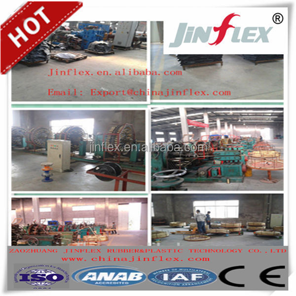 Zaozhuang JINFLEX high pressure water jet/jetting hose for car wash