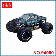 high speed Skeleton 94050 1:5 Gas Power 4WD RC Monster Truck